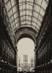 buildings outoffocus black white arch arches vittorioemanuele galleriavittorio glass architecture hystorical italy milan gallery old roof retro ancient classical