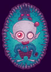 bat blood cartoon fangs halloween leech teeth tick vampire nosferatu dracula