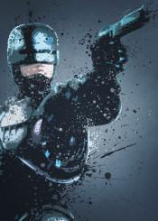 robocop cyberpunk omni consumer products cyborg droid murphy splatter