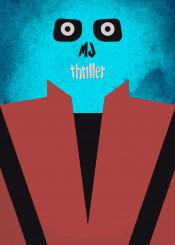 mj micheljackson thriller halloween spooky creepy scary thrillernight original minimalist minimalism music mjthriller michael jackson