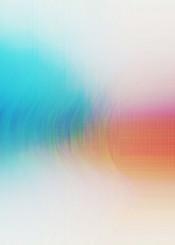 abstract digital glitch