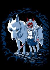 wolf princess studio manga warrior