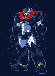 mazin robot machine giant monster manga