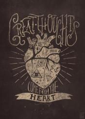 heart retro vintage