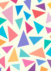 color colorful background decoration triangle illustration geometric 3d