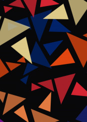 geometric color colorful background decoration triangle 3d
