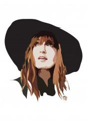 florence welch machine music virgo singer cool witch hat redhead