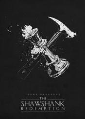 the shawshank redemption classic movies posters morgan freeman black