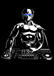dj music punch japan anime techno dance disco ok manga hero