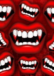 vampire mouth danger red blood monster horror halloween superstition teeth nightmare bite vampirebite bloody terrifying lips bloodstains vampireteeth fangs hunter bloodhunter death undead creepy spooky scary