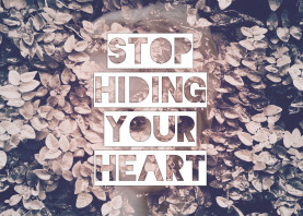 stop hiding heart hearts quote motivation inspiration leaf leaves vintage black white photography ivy her girl woman women ghost ghostly phantom phantasmic