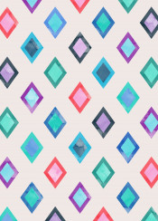 geometric color colorful pattern background decoration square triangle