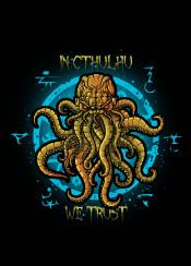 cthulhu horror necronomicon lovecraft deep sea ocean monster god