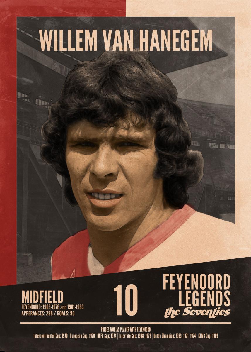 - Feyenoord Legends of the Seventies Willem van Hanegem