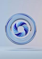 circle 3d abstract