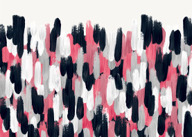 abstract acrylic paint texture contemporary modern pink navy blue gray mixed girly cute trendy
