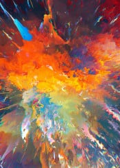 hin abstract nebula colors galaxy colorful explosive explosion graphic art digital artistic glitch fractal space univers nasa psychedelic dorianlegret