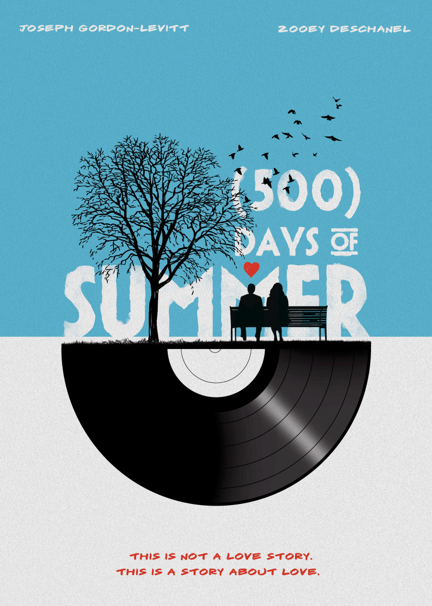 500 days of summer art movie inspired. 222600