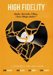 movie film cinema high fidelity art graphic design vinyl record music heart love illustration