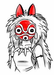 prince wolf anime manga warrior wars war mask princess