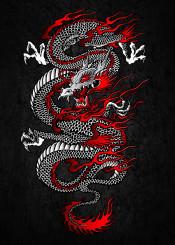 asian dragon japanese chinese korean warrior fighter martial arts king grunge dragons reptile protector spiritual mystic spirit