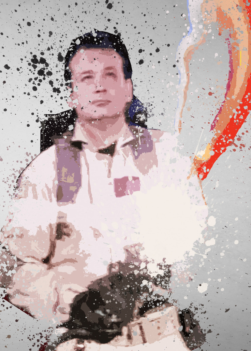 Venkman. Splatter effect artwork inspired by the Ghostbusters universe 225089