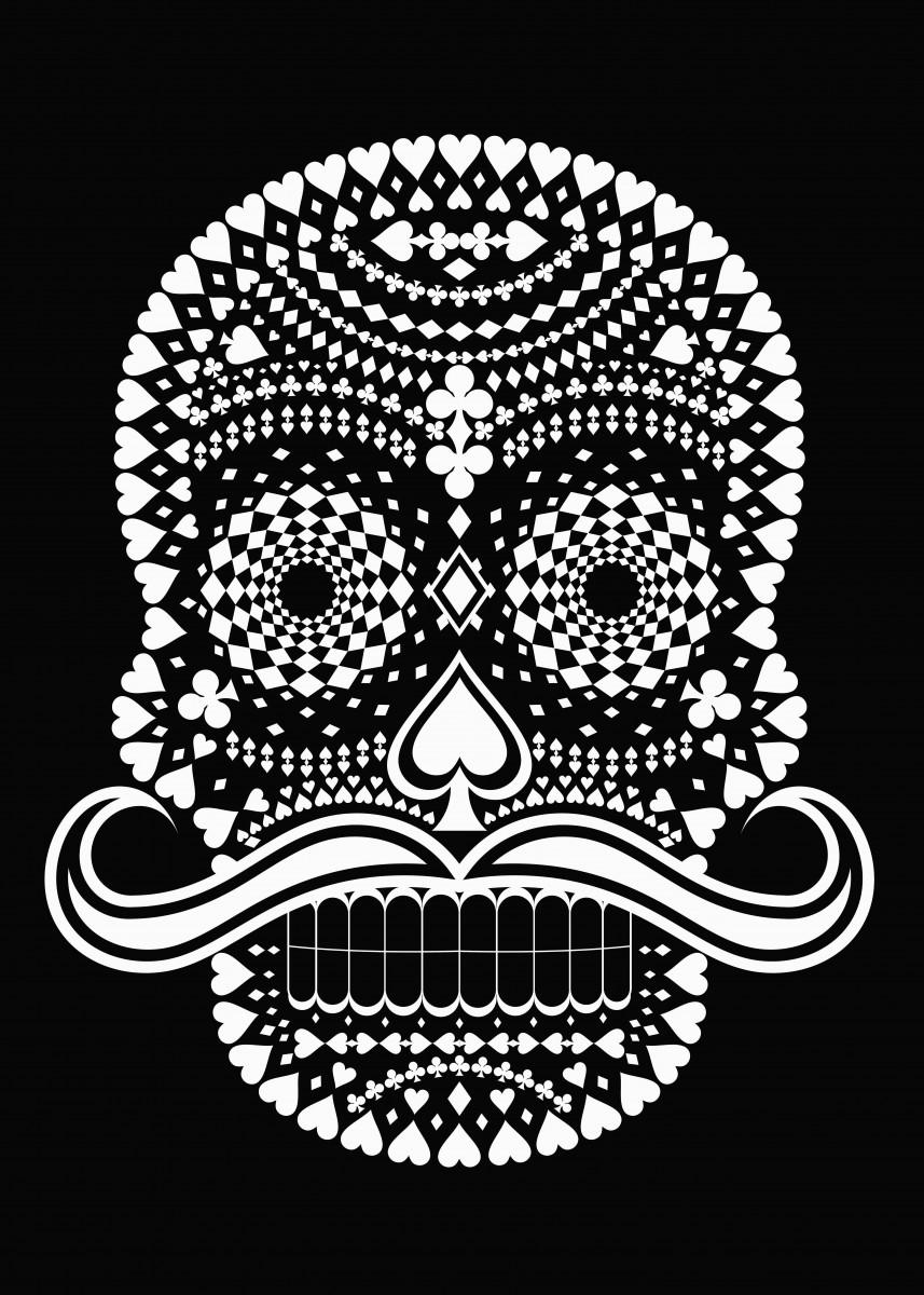 Black Skull whit White Suits