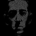 H. P. Lovecraft - Necronomicon. A portrait of H. P. Lovecraft using text from The Call of Cthulhu.
