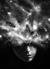 space stars portrait universe galaxy beyond