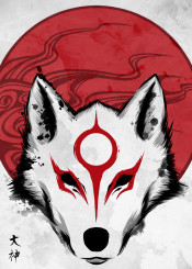 okami wolf gaming japan