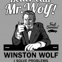 If you really want someone who solves problems, better call Mr. Wolf! Fast service if you what he says when he says.