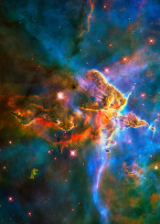 space hst hubble universe nebulae