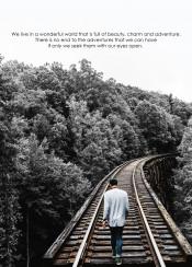 wonder tracks quote landscape walk