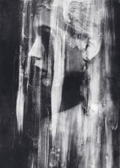 dark abstract surreal surrealism portrait monochrome blackandwhite black white bjnorberg bjorn norberg art model acrylics