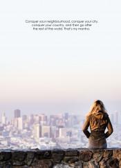 quote city landscape conquer mantra