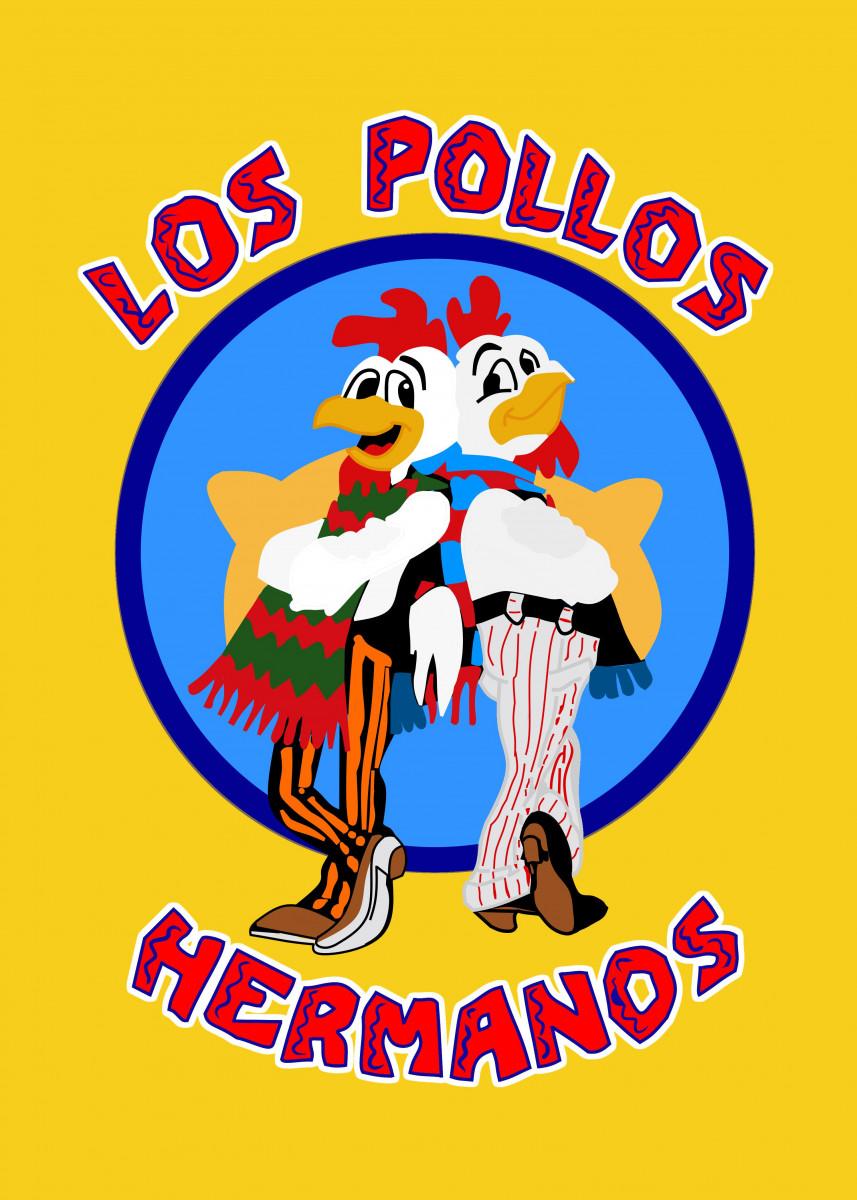 Los Pollos Hermanos Logo From Breaking Bad