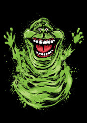 ghostbuster ghosts bill murray slimer