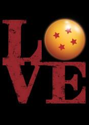 dragon ball dragonball dbz goku love robert indiana parody ssj db