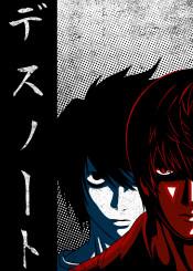 death note anime manga light yagami ryuzaki ryuk shinigami