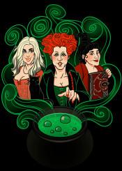 hocus pocus witches halloween salem sanderson sisters