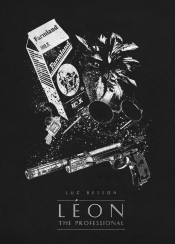 leon the professional luc besson movie movies classic posters