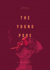 young pope sorrentino jude lowe series movie film design glitch typo color red yellow