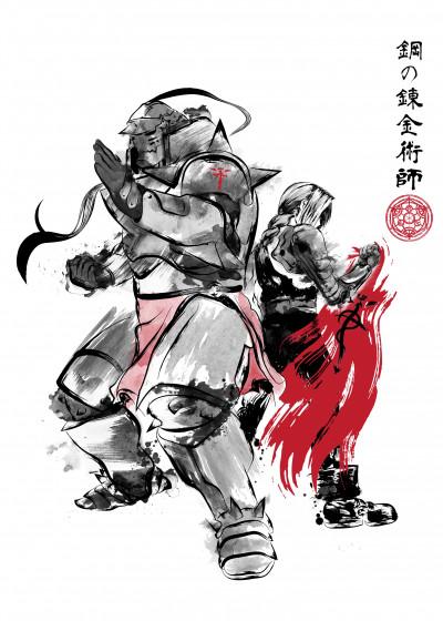 Antonio Camarena Anime   Displate Prints on Steel