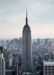nyc newyork urban city empirestate building manhattan midtown empirestatebuilding skyscraper skyline