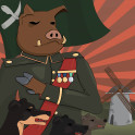 Heroic realism Poster of George Orwell's Animal farm. Enjoy!