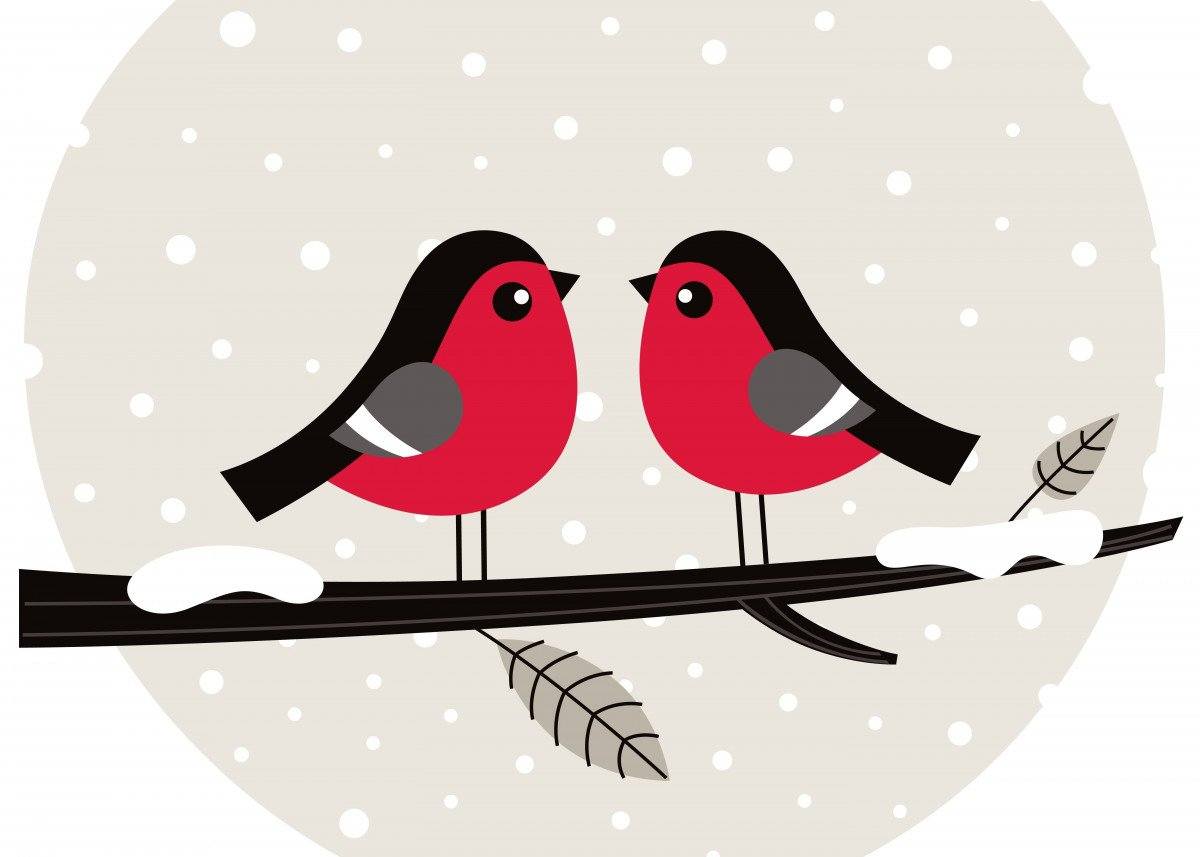 New christmas Displate is in Shop. Enjoy LOVE BIRDS! Art is for sale.
