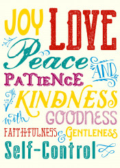 fruit of the spirit love joy peace patience kindness goodness faithfulness gentleness self control typography vintage distressed retro font flourish bright red teal purple yellow blue ivory spiritual motivational inspirational quotable quotes bible verse passage colorful fancy beautiful verses inspiring uplifting encouragement sacred devotional meditation biblical corinthians