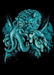 lovecraft chulhu octopus cthulhu hp god tentacles necronomicon