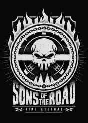 road mad max skull sons ride eternal badass