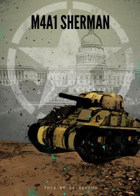 American World War 2 Tanks